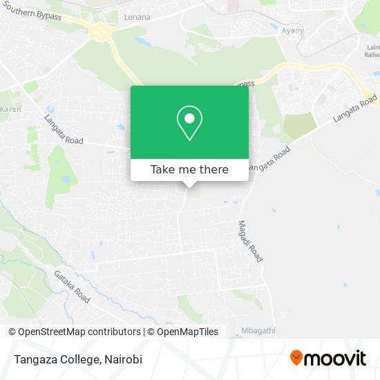 Tangaza College map