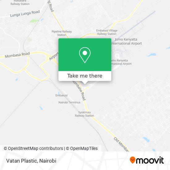 Vatan Plastic map