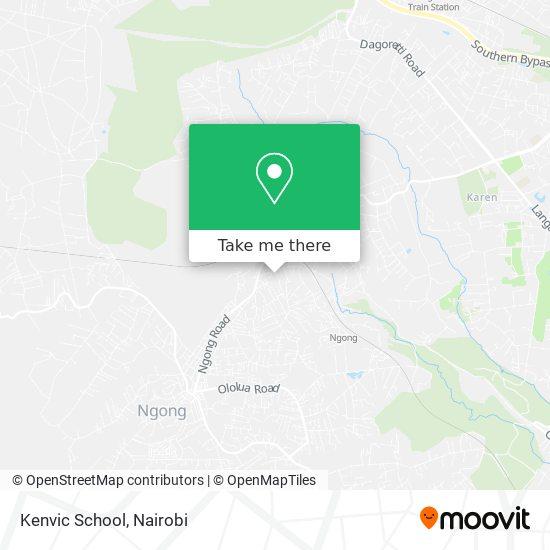 Kenvic School map