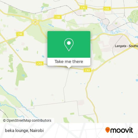 beka lounge map