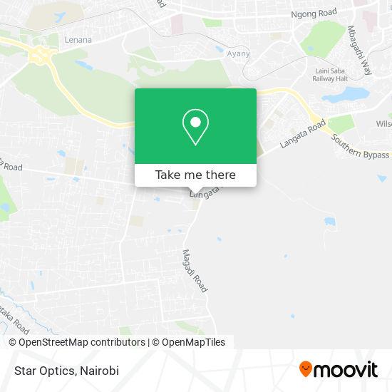 Star Optics map