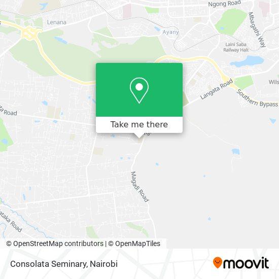 Consolata Seminary map