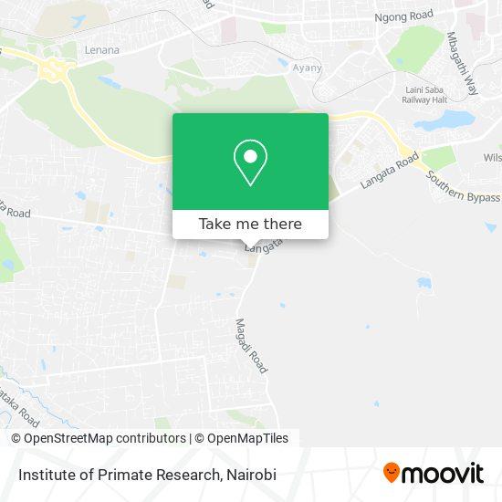 Institute of Primate Research map