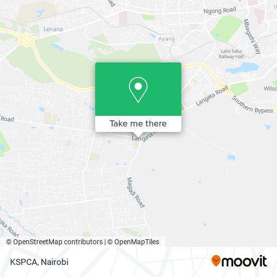 KSPCA map