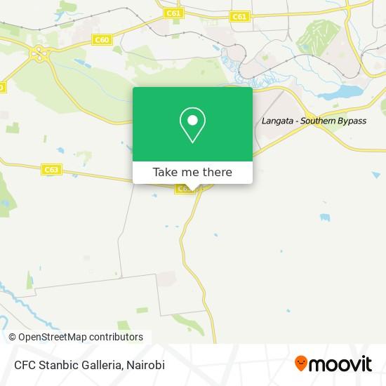 CFC  Stanbic Galleria map