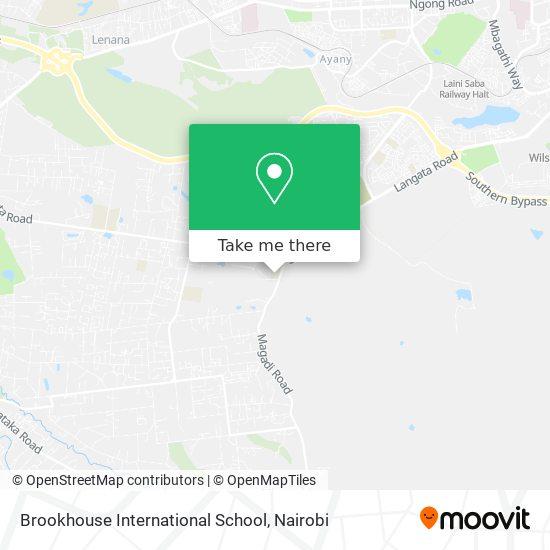 Brookhouse International School map