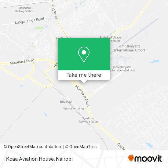 Kcaa Aviation House map
