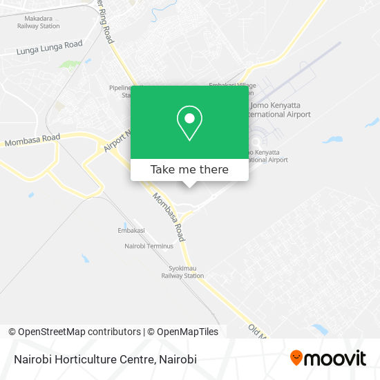 Nairobi Horticulture Centre map