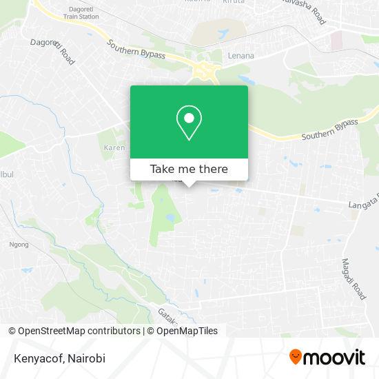 Kenyacof map
