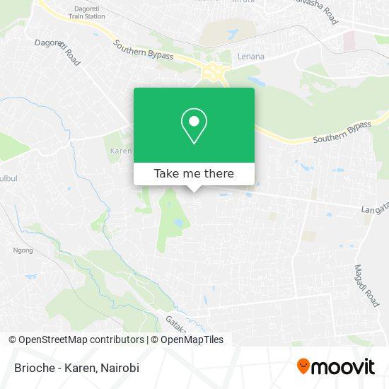 Brioche - Karen map