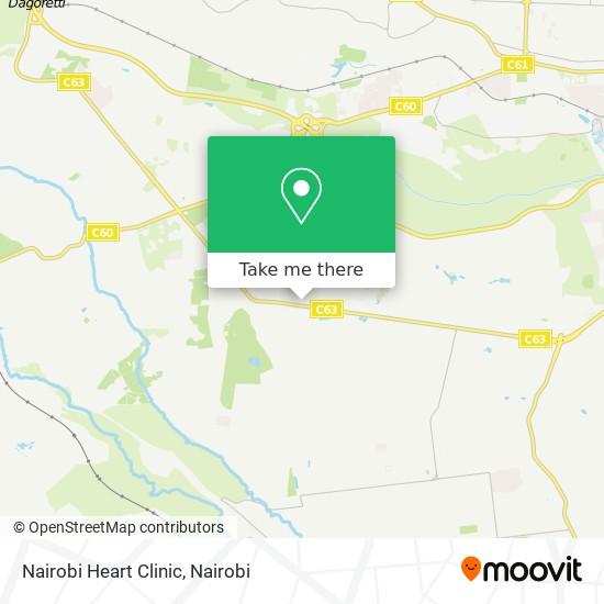 Nairobi Heart Clinic map