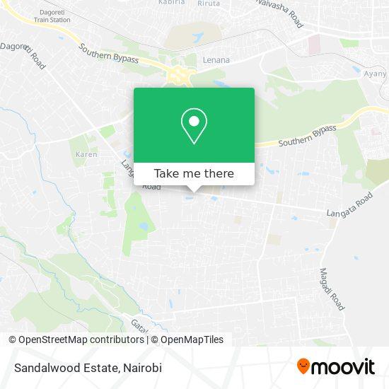 Sandalwood Estate map