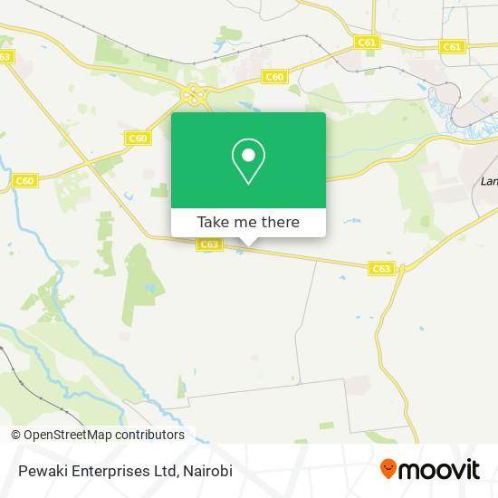 Pewaki Enterprises Ltd map