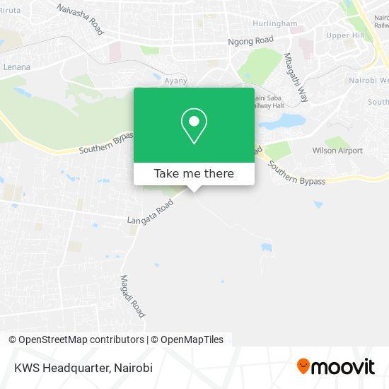 KWS Headquarter map