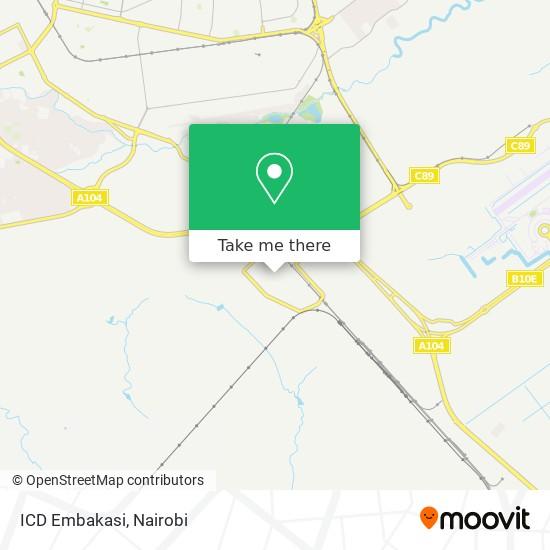 ICD Embakasi map