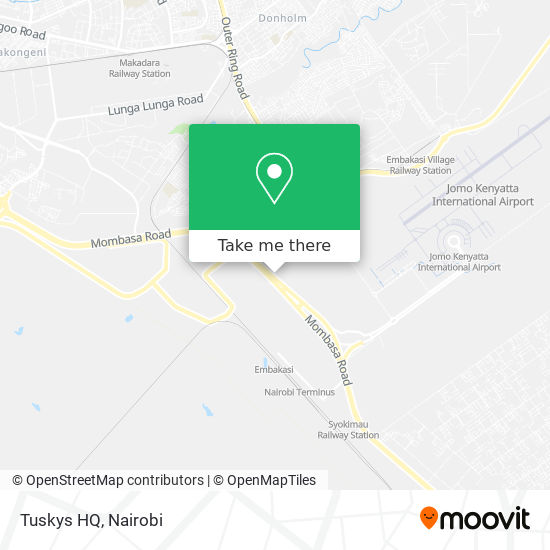 Tuskys HQ map