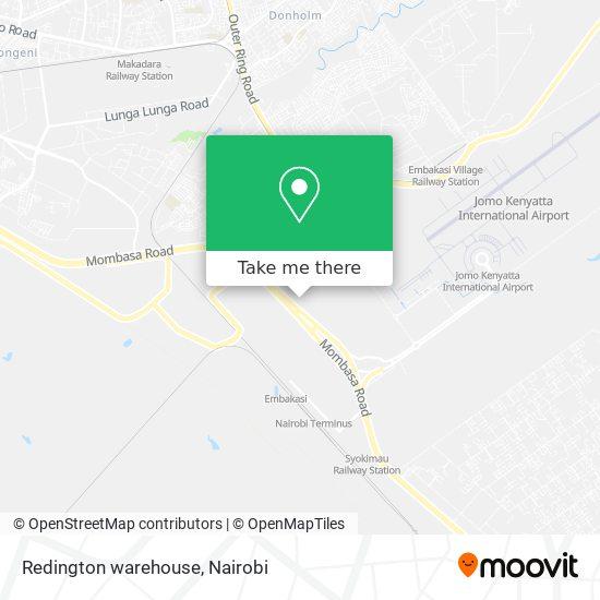Redington warehouse map