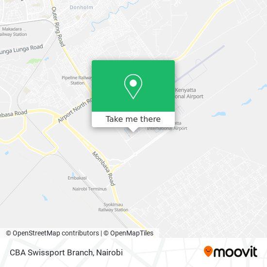 CBA Swissport Branch map