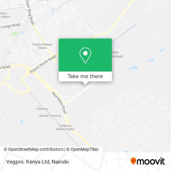 Vegpro. Kenya Ltd map
