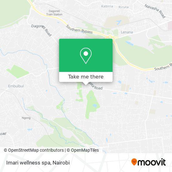Imari wellness spa map