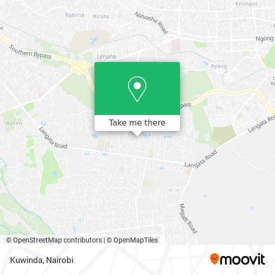 Kuwinda map