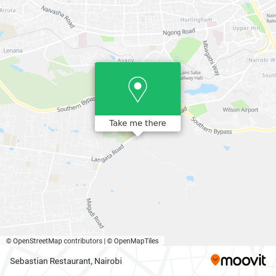Sebastian Restaurant map