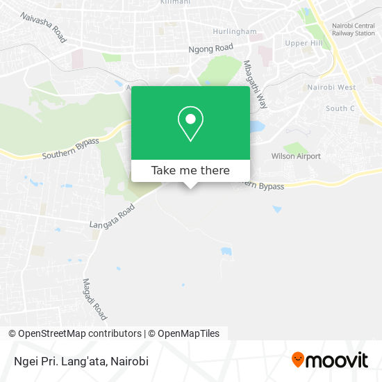 Ngei Pri. Lang'ata map