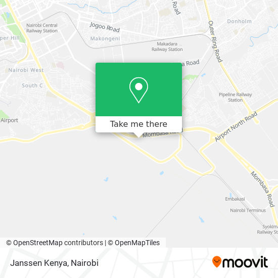 Janssen Kenya map