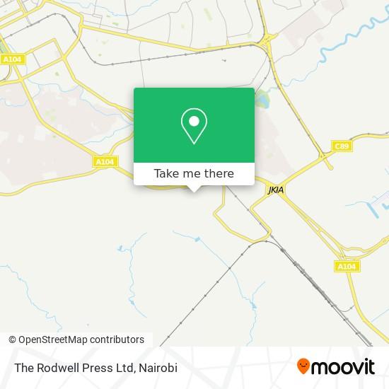 The Rodwell Press Ltd map