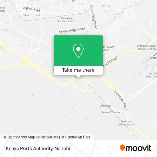 Kenya Ports Authority map