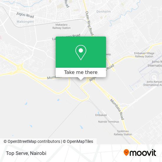 Top Serve map