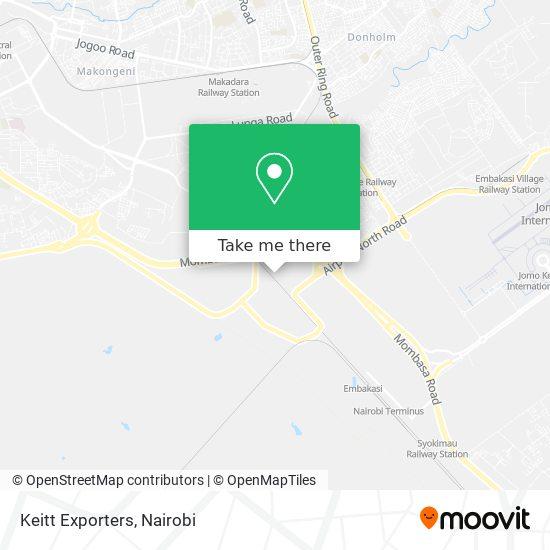 Keitt Exporters map
