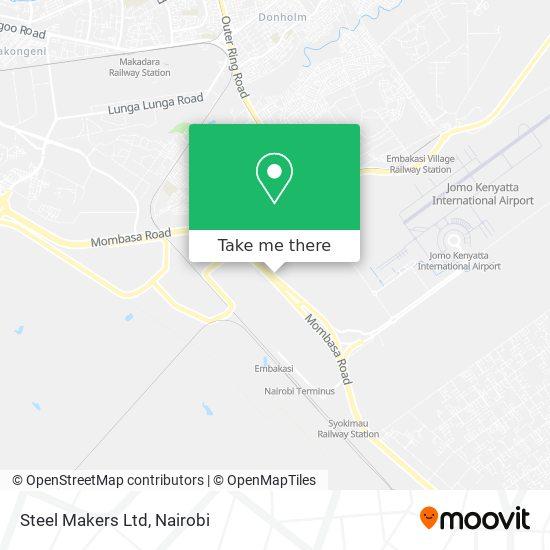 Steel Makers Ltd map