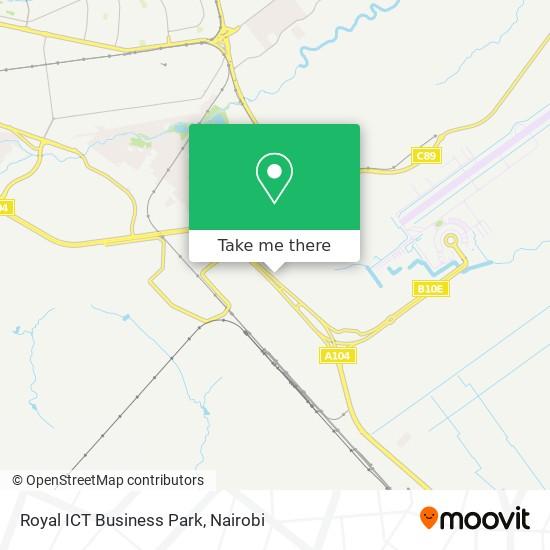 Royal ICT Business Park map