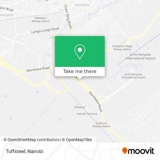 Tuffsteel map