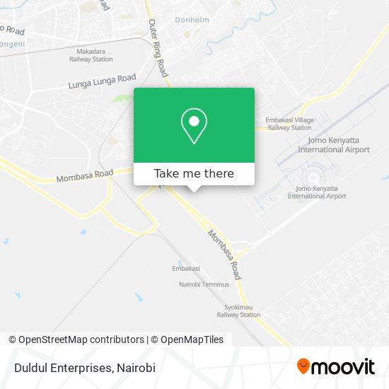 Duldul Enterprises map