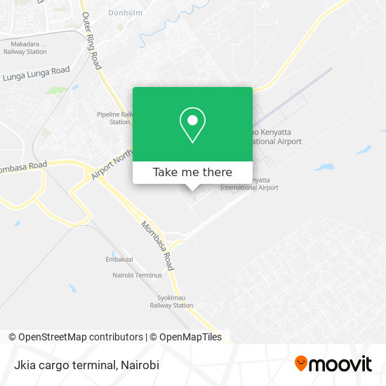 Jkia cargo terminal map