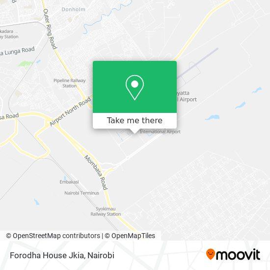 Forodha House Jkia map