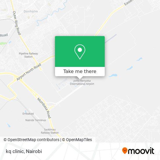 kq clinic map