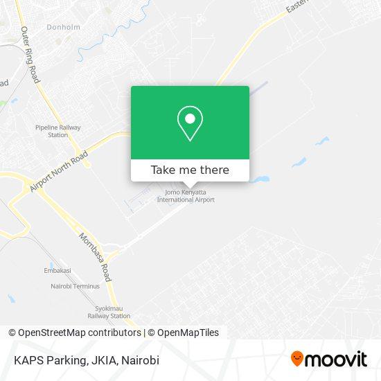 KAPS Parking, JKIA map