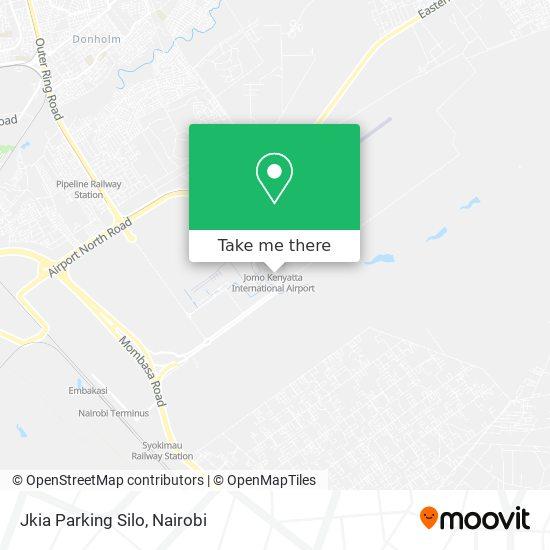 Jkia Parking Silo map