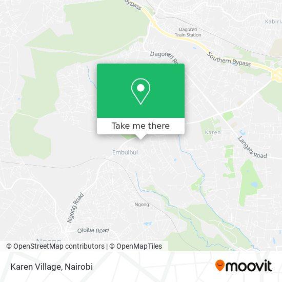 Karen Village map