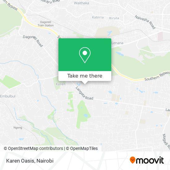 Karen Oasis map