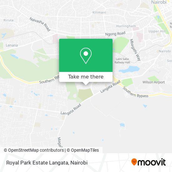 Royal Park Estate Langata map