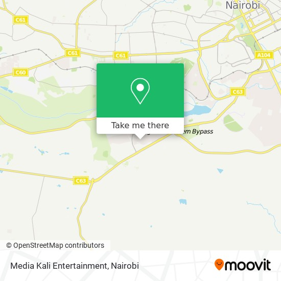 Media Kali Entertainment map