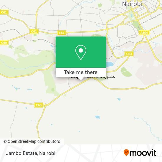 Jambo Estate map