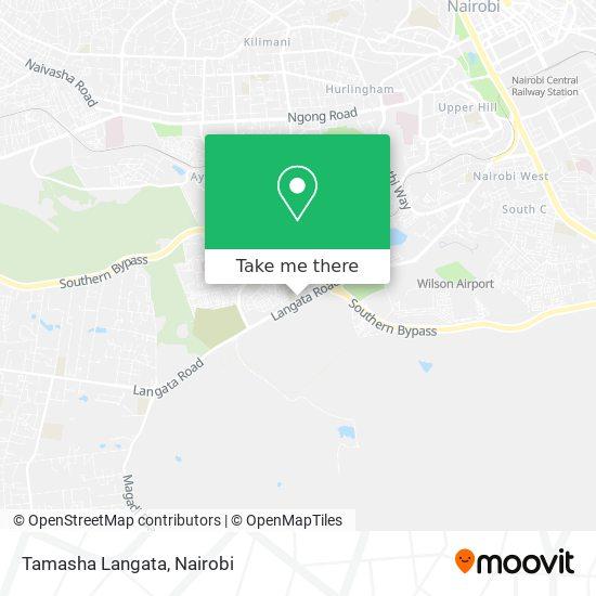 Tamasha Langata map