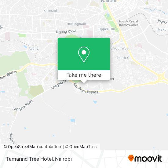 Tamarind Tree Hotel map