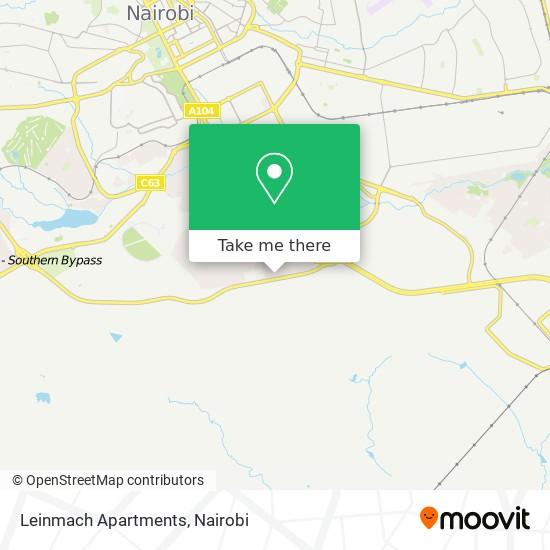Leinmach Apartments map