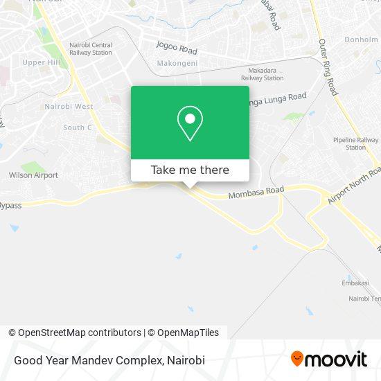 Good Year Mandev Complex map